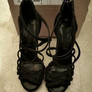 BCBG high heel shoes size 5.5